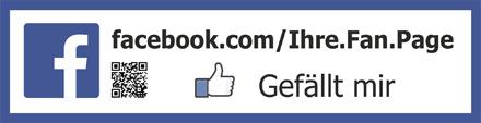 Facebook Gefällt mir Aufkleber