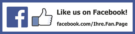 Facebook like us on  qr code