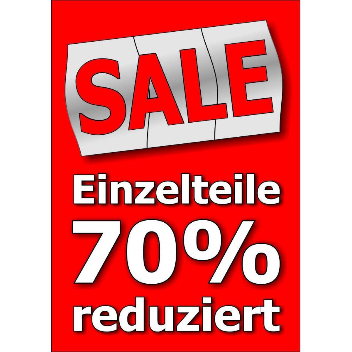 Plakat sale einzelteile 70 reduziert for Mobel 70 reduziert