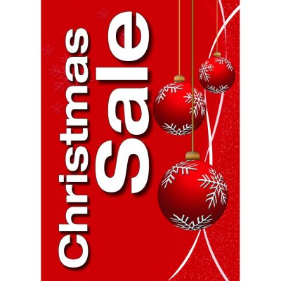 Plakat Christmas Sale