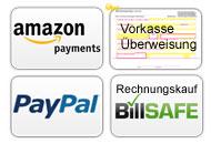 Zahlungsmöglichkeiten im WDS Werbeshop